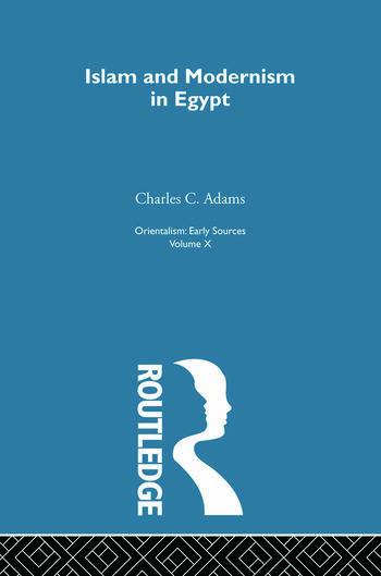Islam&Mod Egypt:Orientalsm V10 book cover