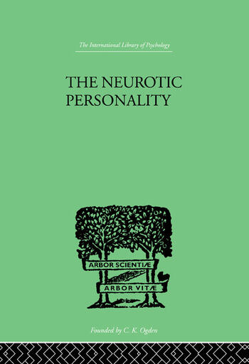 The Neurotic Personality book cover