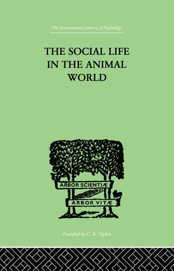 The Social Life In The Animal World book cover