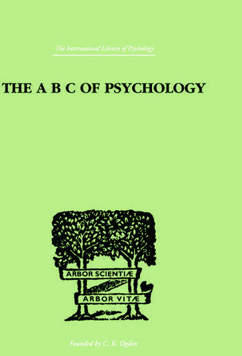 The A B C Of Psychology book cover