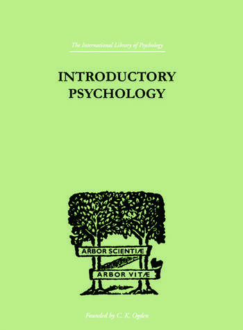 Introductory Psychology AN APPROACH FOR SOCIAL WORKERS book cover