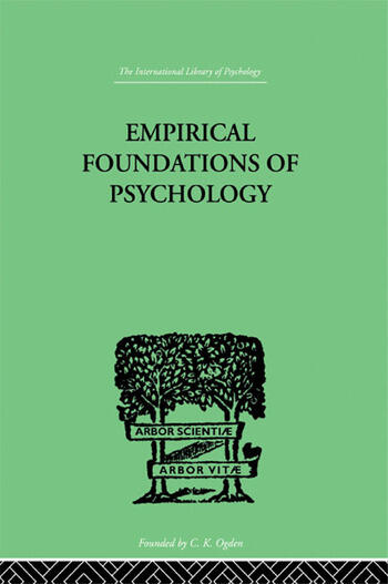 Empirical Foundations Of Psychology book cover