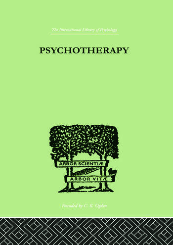 Psychotherapy book cover