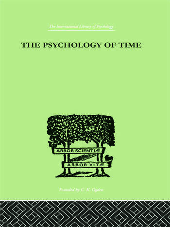 The Psychology of time book cover