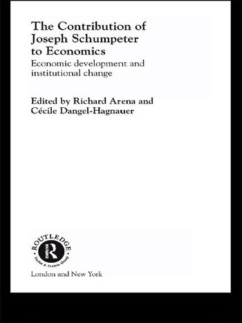 The Contribution of Joseph A. Schumpeter to Economics book cover