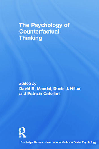 The Psychology of Counterfactual Thinking book cover