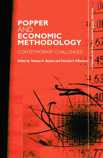 Popper and Economic Methodology Contemporary Challenges book cover