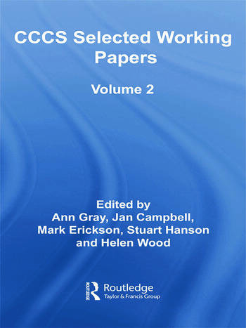 CCCS Selected Working Papers Volume 2 book cover