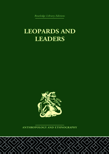 Leopards and Leaders Constitutional Politics among a Cross River People book cover
