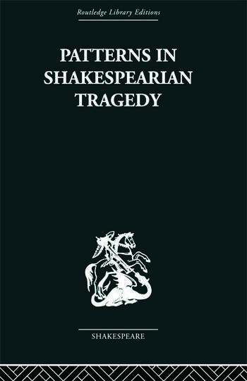 Patterns in Shakespearian Tragedy book cover