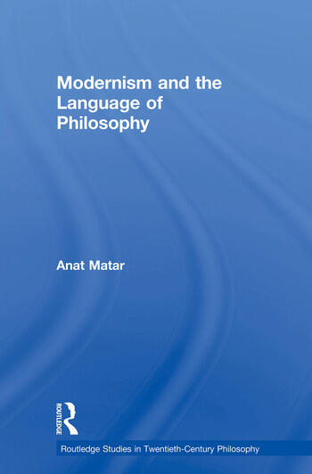 Modernism and the Language of Philosophy book cover