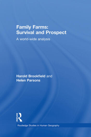 Family Farms: Survival and Prospect A World-Wide Analysis book cover