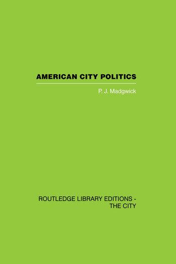 American City Politics book cover