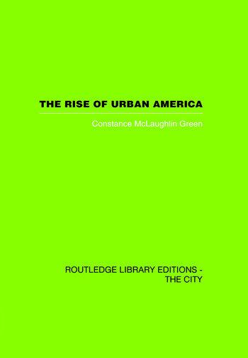 The Rise of Urban America book cover