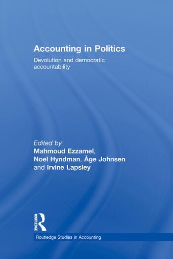 Accounting in Politics Devolution and Democratic Accountability book cover