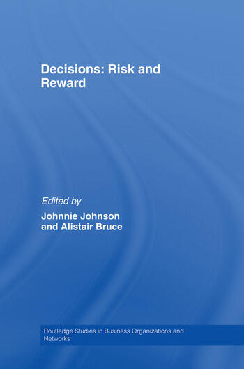 Decisions: Risk and Reward book cover