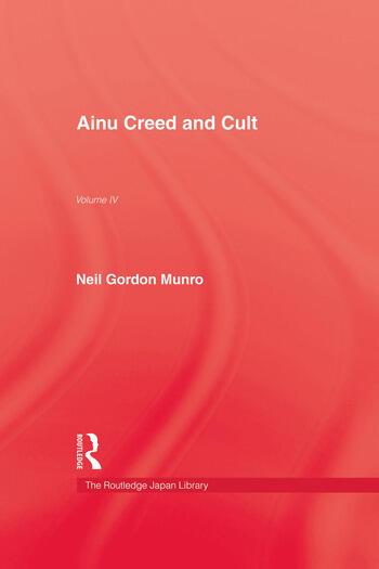 Ainu Creed & Cult book cover