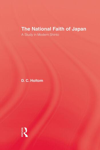 National Faith Of Japan book cover