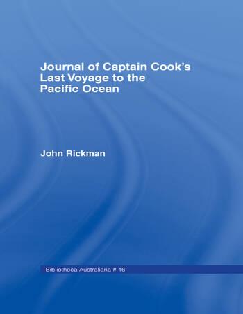 Journal of Captain Cook S Las Cb Jnl Capt Cooks Last Vo book cover