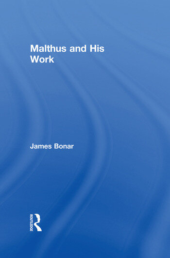 Malthus and His Work book cover