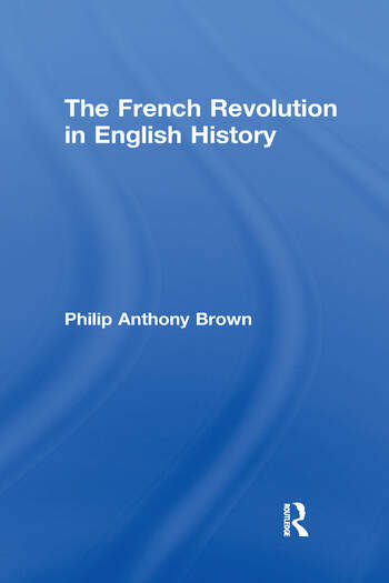 The French Revolution in English History book cover