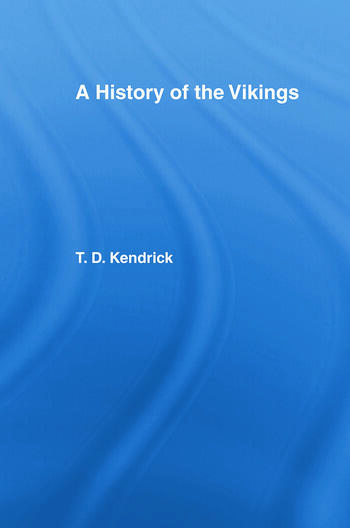 A History of the Vikings book cover