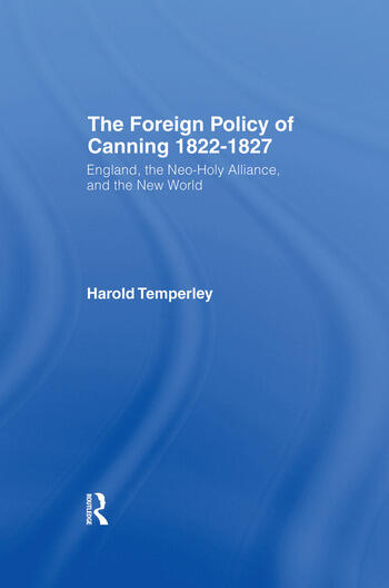 Foreign Policy of Canning Cb Foreign Plcy Canning book cover