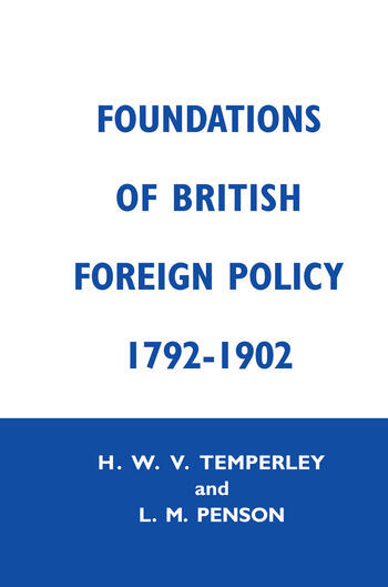 Foundation of Brtish Foreign Cb Fndtns Btsh Forgn Py book cover