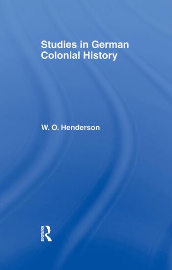 Studies in German Colonial History book cover