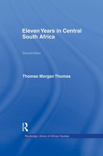 Eleven Years in Central South Africa book cover