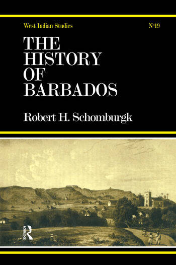 History of Barbados book cover