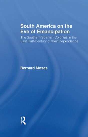 South America on the Eve of Emancipation book cover