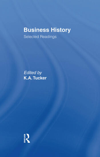 Business History Selected Readings book cover