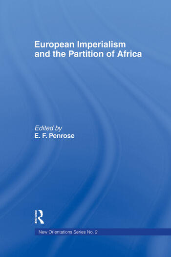 European Imperialism and the Partition of Africa book cover