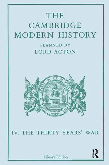 The Cambridge Modern History Modern History 13 Vl book cover