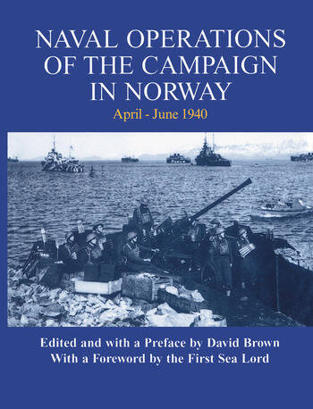 Naval Operations of the Campaign in Norway, April-June 1940 book cover