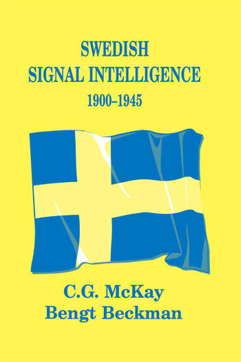 Swedish Signal Intelligence 1900-1945 book cover