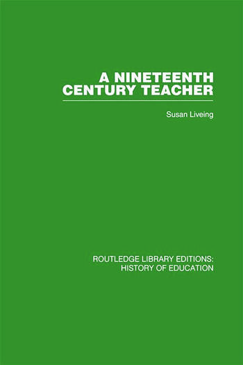 A Nineteenth Century Teacher John Henry Bridges book cover