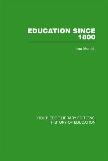 Education Since 1800 book cover