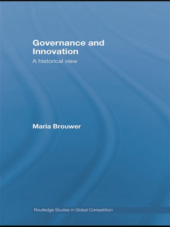 Governance and Innovation A historical view book cover