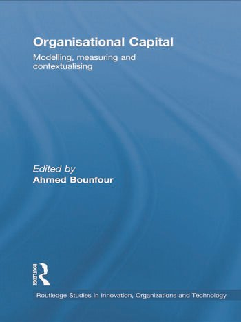 Organisational Capital Modelling, Measuring and Contextualising book cover