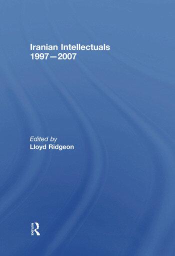 Iranian Intellectuals 1997–2007 book cover