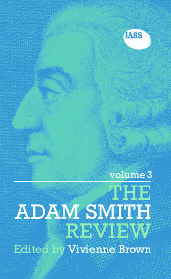 The Adam Smith Review: Volume 3 book cover