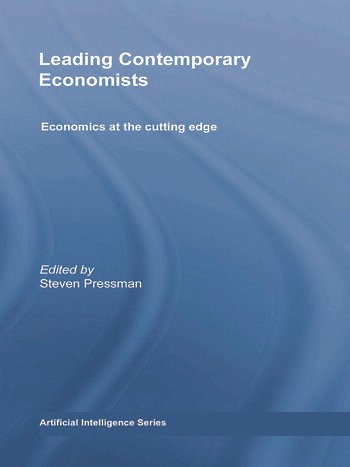 Leading Contemporary Economists Economics at the cutting edge book cover