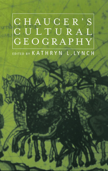 Chaucer's Cultural Geography book cover