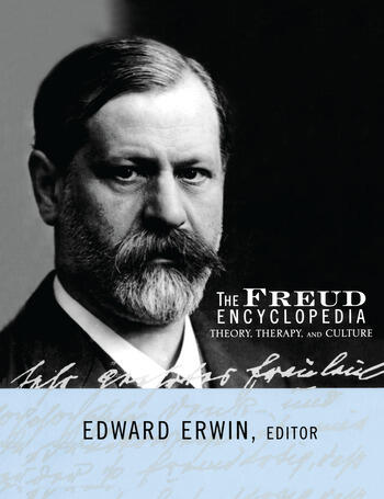 The Freud Encyclopedia Theory, Therapy, and Culture book cover