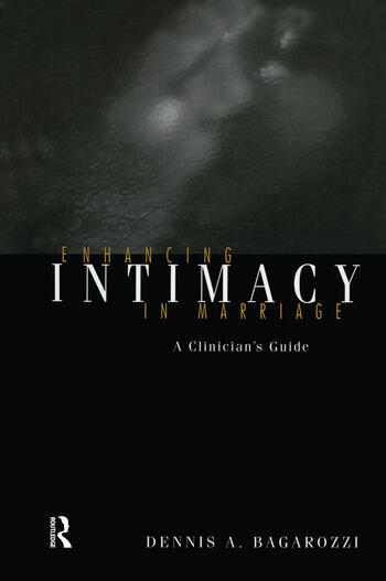Enhancing Intimacy in Marriage A Clinician's Guide book cover