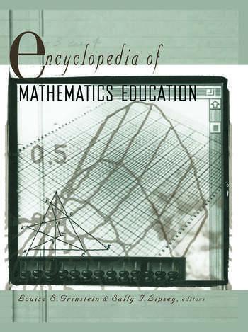 Encyclopedia of Mathematics Education book cover