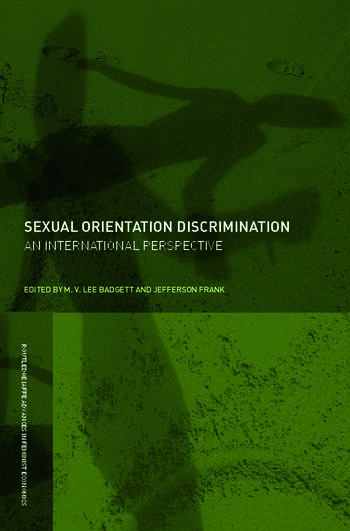 Sexual Orientation Discrimination An International Perspective book cover