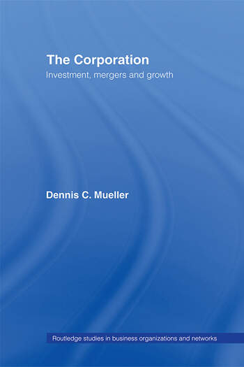 The Corporation Growth, Diversification and Mergers book cover